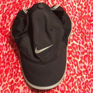 Nike hat and zxu sports hat.